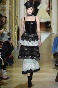 Ulyana Sergeenko Spring 2016 Couture Look 1