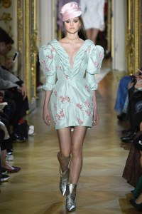 Ulyana Sergeenko Spring 2016 Couture Look 17