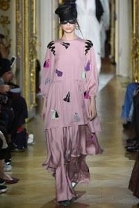 Ulyana Sergeenko Spring 2016 Couture Look 22