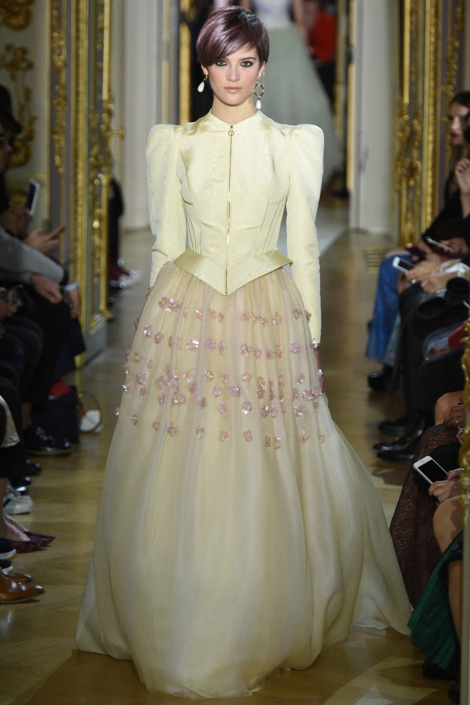 Ulyana Sergeenko Spring 2016 Couture Look 42