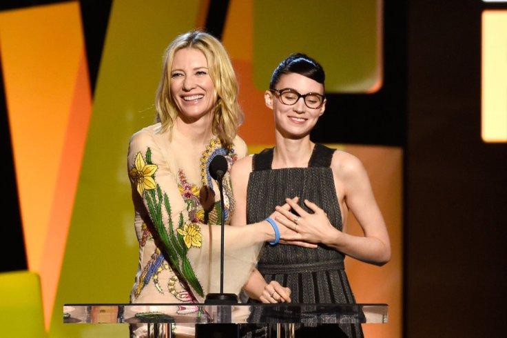 2016 Independent Spirit Awards Cate Blanchett & Rooney Mara