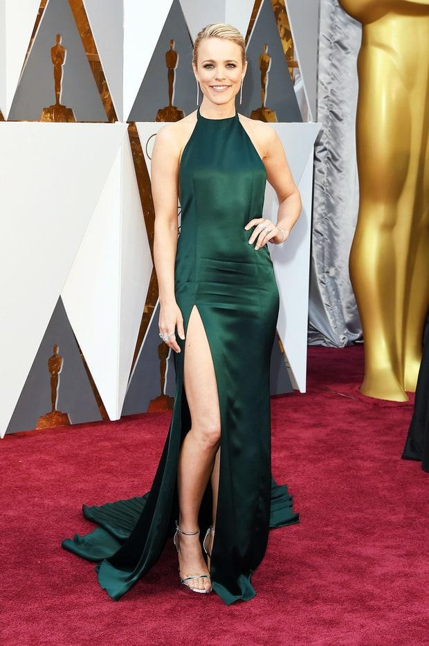 2016 Oscars Rachel McAdams in August Getty Atelier
