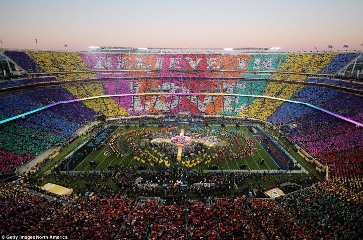 2016 Super Bowl- Believe in Love