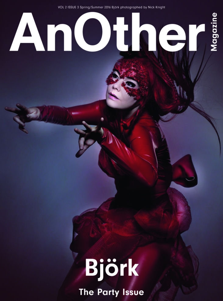 Björk X AnOther Magazine Spring-Summer 2016-Cover