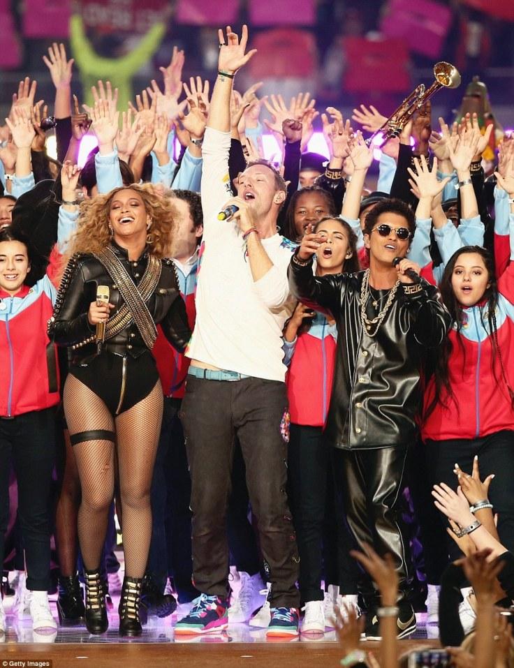 Coldplay & Beyoncé & Bruno Mars