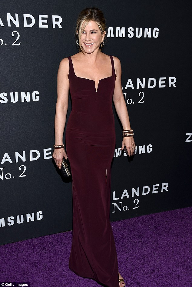 Jennifer Aniston in Galvan Fall 2015