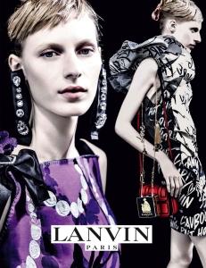 Julia Nobis X Lanvin Spring 2016 Campaign -2016.2.4-