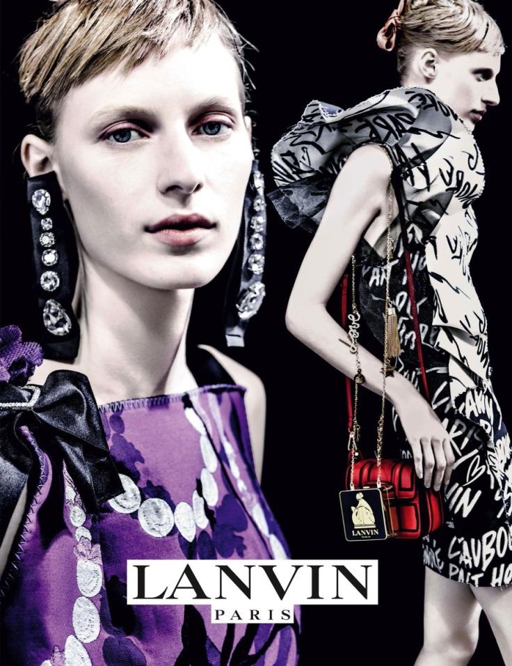 Julia Nobis Lanvin Spring 2016 Campaign-1