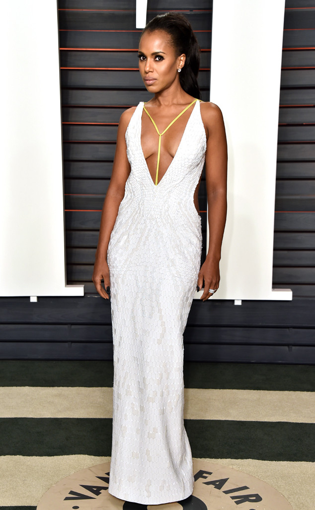 Kerry Washington in Atelier Versace Spring 2016 Couture