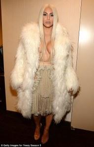 Kim Kardashian in Yeezy -2016.2.12-