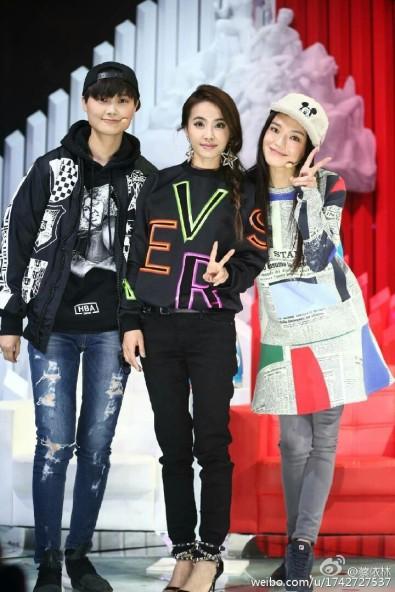 Kris Lee & Jolin Tsai & Shu Qi