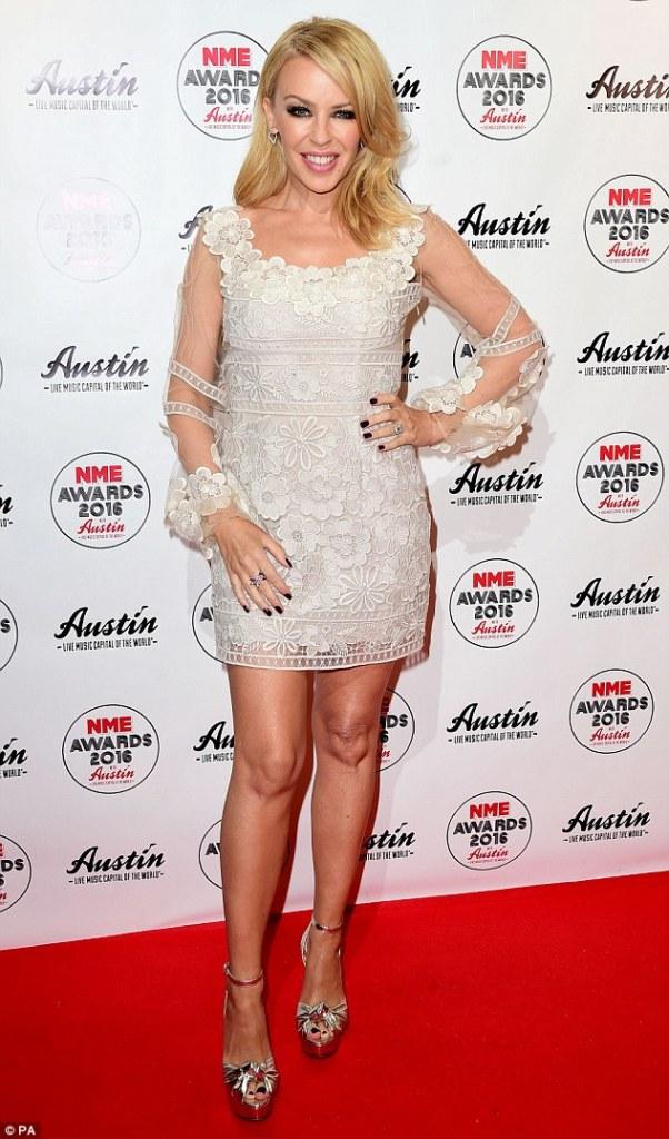 Kylie Minogue in Blumarine Resort 2016