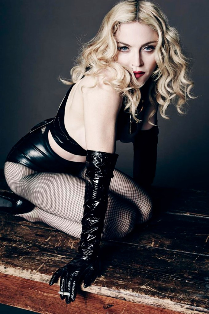 Madonna L'uomo Vogue May-June 2014-1
