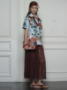 Valentino Hawaiian Couture Look 1