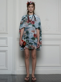 Valentino Hawaiian Couture Look 12