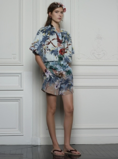 Valentino Hawaiian Couture Look 14