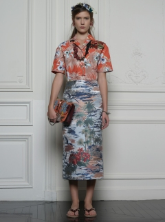 Valentino Hawaiian Couture Look 15