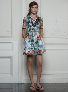 Valentino Hawaiian Couture Look 17