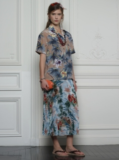 Valentino Hawaiian Couture Look 18