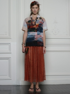 Valentino Hawaiian Couture Look 19