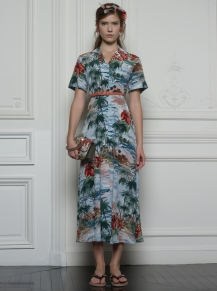 Valentino Hawaiian Couture Look 2