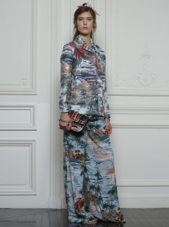Valentino Hawaiian Couture Look 21