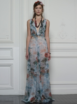 Valentino Hawaiian Couture Look 22