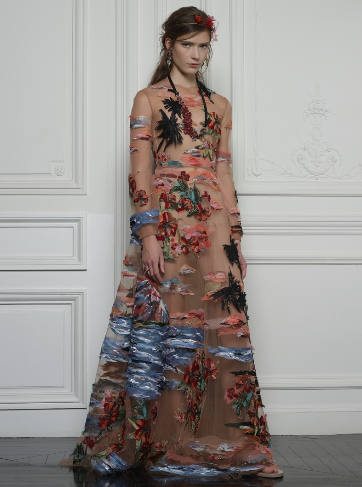 Valentino Hawaiian Couture Look 23