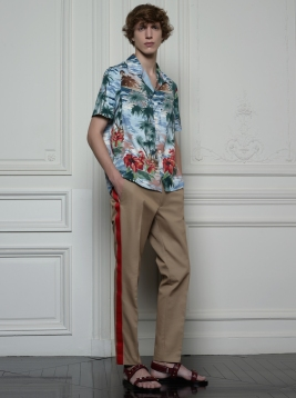 Valentino Hawaiian Couture Look 24