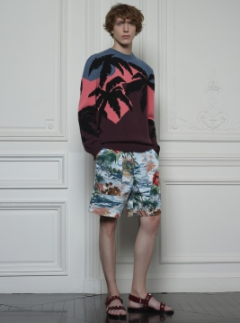 Valentino Hawaiian Couture Look 26