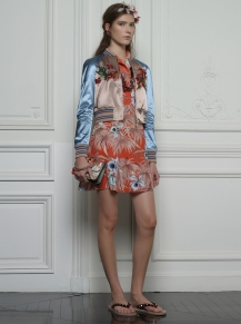 Valentino Hawaiian Couture Look 3