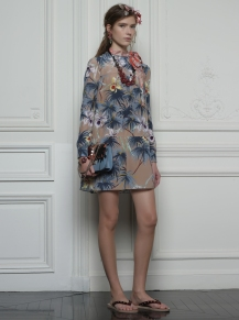 Valentino Hawaiian Couture Look 4