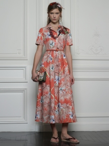 Valentino Hawaiian Couture Look 5