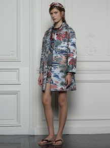 Valentino Hawaiian Couture Look 6