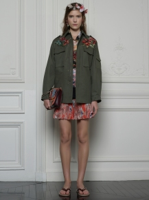 Valentino Hawaiian Couture Look 8