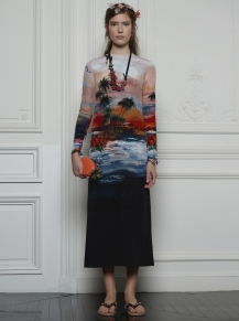 Valentino Hawaiian Couture Look 9