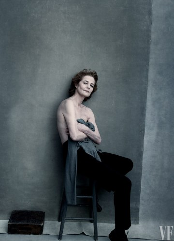 Vanity Fair The Hollywood Issue 2016-Charlotte Rampling