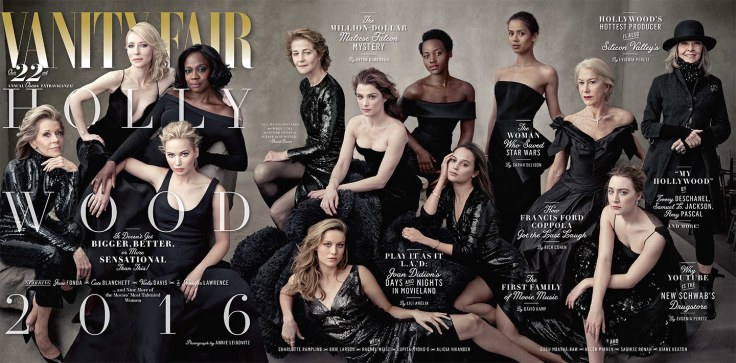 Vanity Fair The Hollywood Issue 2016-Cover