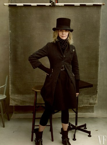 Vanity Fair The Hollywood Issue 2016-Diane Keaton