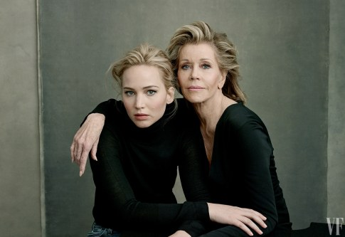 Vanity Fair The Hollywood Issue 2016-Jennifer Lawrence & Jane Fonda