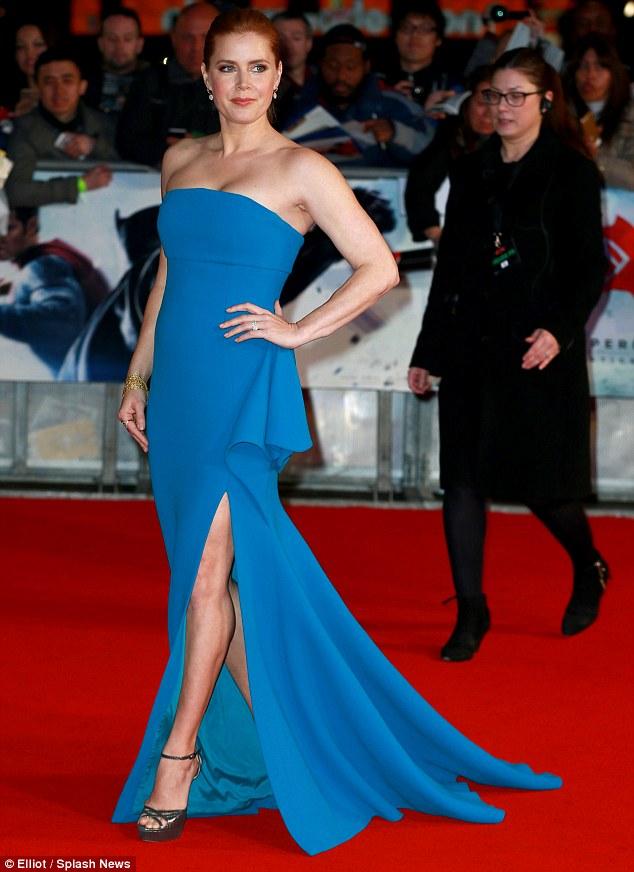 Amy Adams in Antonio Berardi