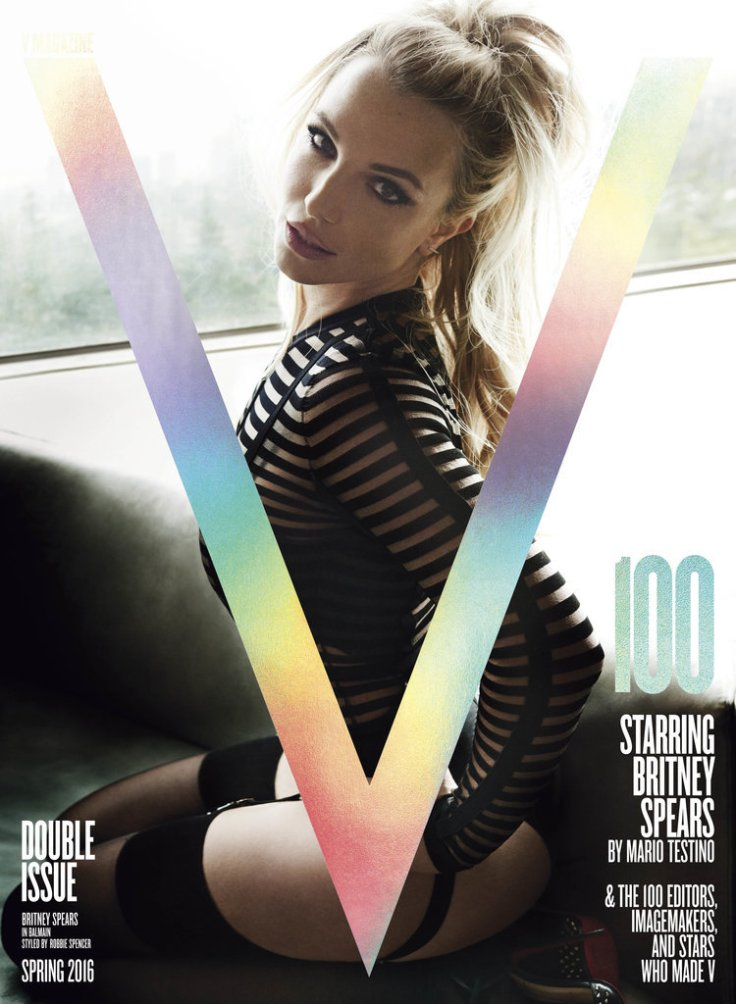 Britney Spears V Magazine March 2016 Cover-1