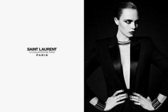 """Cara Delevingne Saint Laurent Fall 2016 """"La Collection de Paris"""" Campaign-1"""