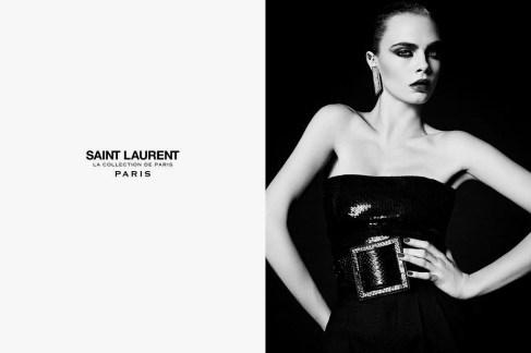 """Cara Delevingne Saint Laurent Fall 2016 """"La Collection de Paris"""" Campaign-2"""