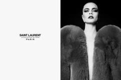 """Cara Delevingne Saint Laurent Fall 2016 """"La Collection de Paris"""" Campaign-4"""
