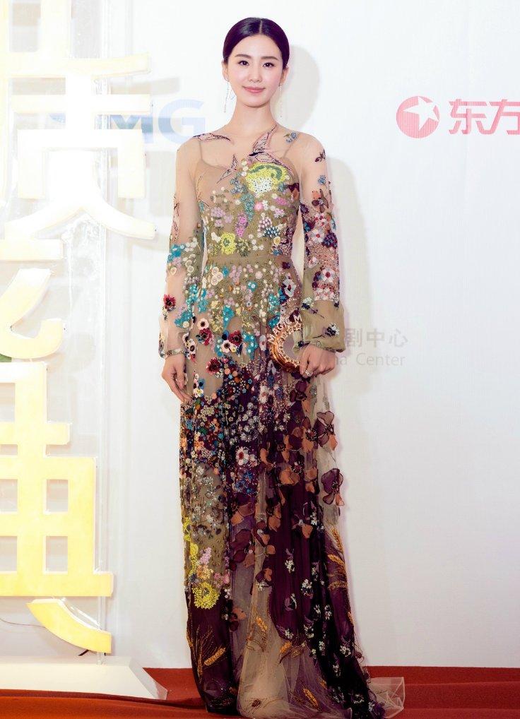 Cecilia Liu in Valentino Resort 2016