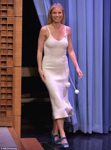 Gwyneth Paltrow in Victoria Beckham Pre-Fall 2016-1
