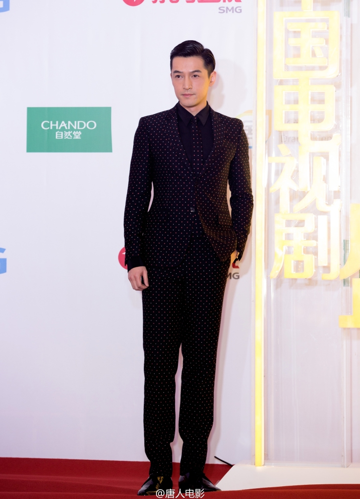 Hu Ge in Givenchy