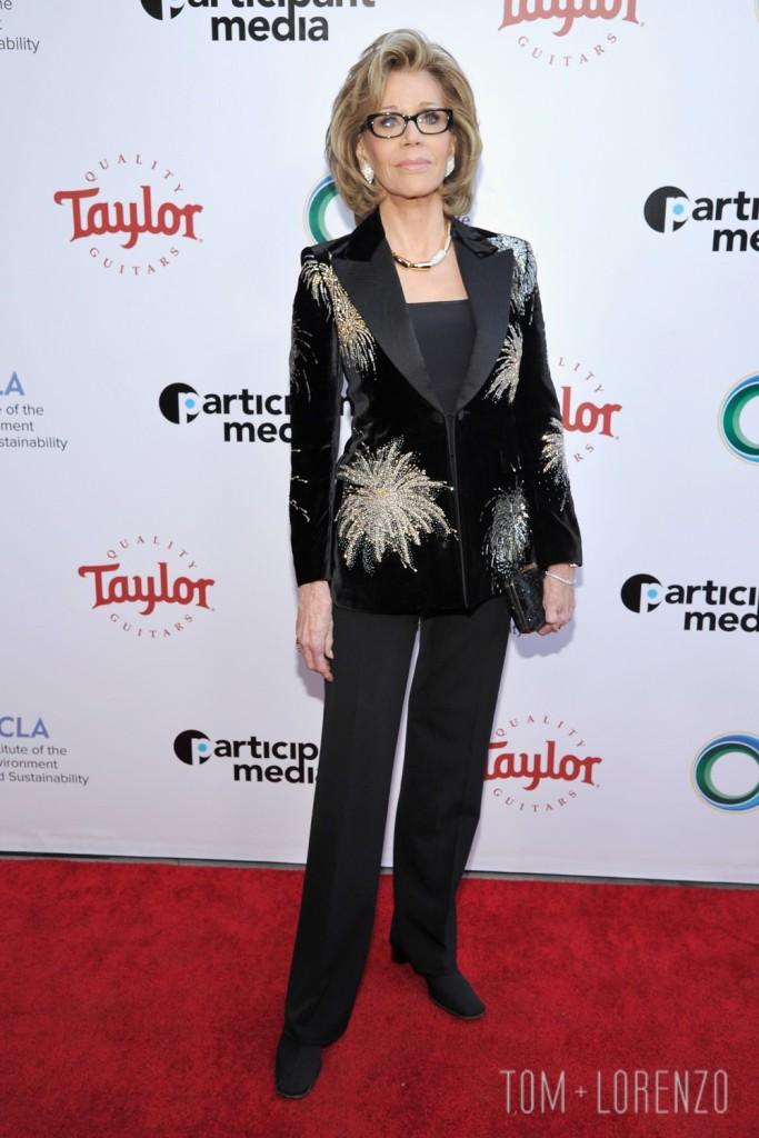 Jane Fonda in Saint Laurent
