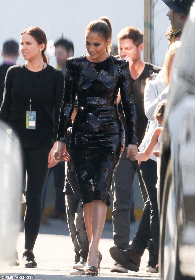 Jennifer Lopez in Alex Perry